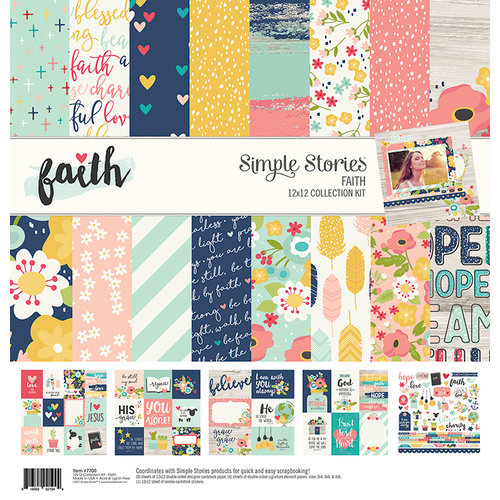 Simple Stories - Faith Collection - 12 x 12 Collection Kit