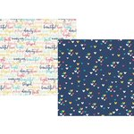 Simple Stories - Faith Collection - 12 x 12 Double Sided Paper - Love