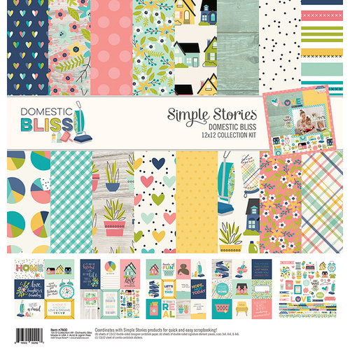 Simple Stories - Domestic Bliss Collection - 12 x 12 Collection Kit