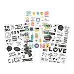 Simple Stories - Domestic Bliss Collection - Clear Stickers