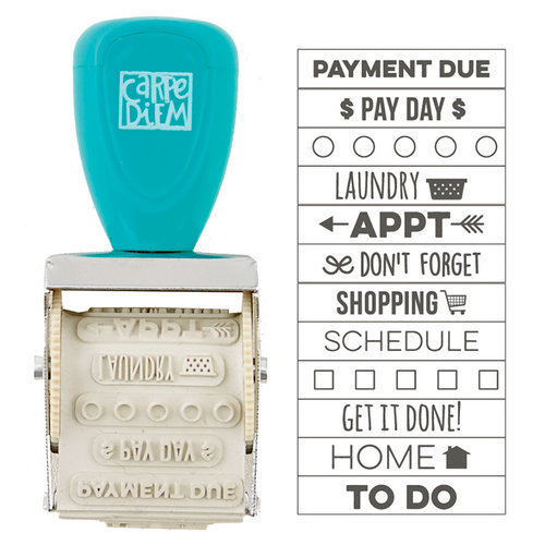 Simple Stories - Carpe Diem - Domestic Bliss Collection - Roller Stamp