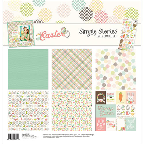 Simple Stories - Easter Collection - 12 x 12 Collection Kit