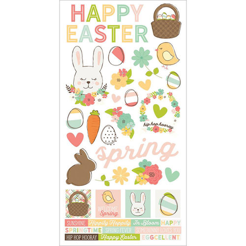 Simple Stories - Easter Collection - Cardstock Stickers