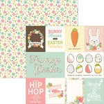 Simple Stories - Easter Collection - 12 x 12 Double Sided Paper - 3 x 4 and 4 x 6 Journaling Card Elements