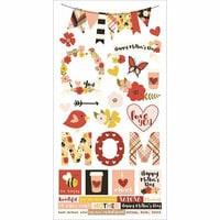 Simple Stories - Mom Collection - Cardstock Stickers
