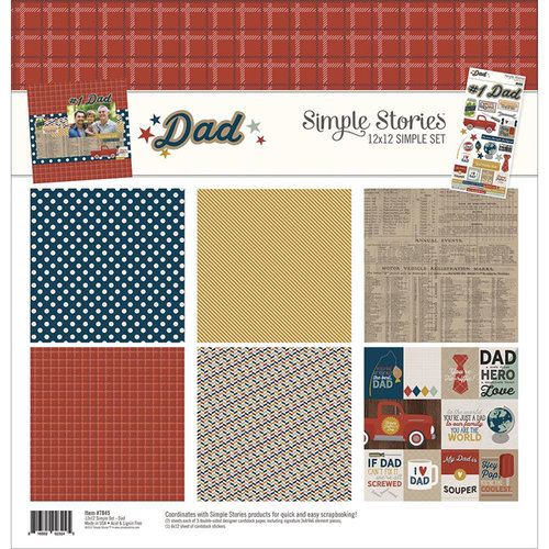 Simple Stories - Dad Collection - 12 x 12 Collection Kit