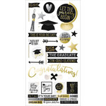 Simple Stories - Grad Collection - Cardstock Stickers