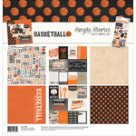 Simple Stories - Basketball Collection - 12 x 12 Collection Kit
