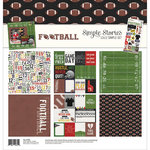 Simple Stories - Football Collection - 12 x 12 Collection Kit