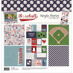 Simple Stories - Baseball Collection - 12 x 12 Collection Kit
