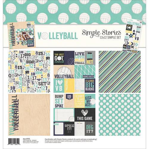 Simple Stories - Volleyball Collection - 12 x 12 Collection Kit