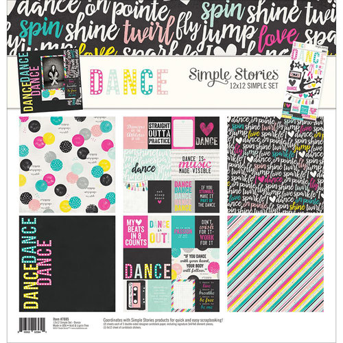 Simple Stories Dance Girls Collection Kit