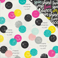 Simple Stories - Dance Collection - 12 x 12 Double Sided Paper - Feel the Beat