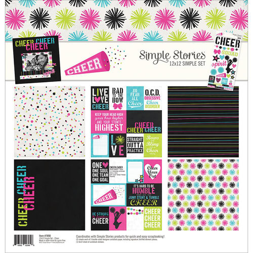 Simple Stories - Cheer Collection - 12 x 12 Collection Kit