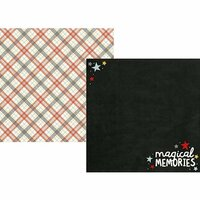 Simple Stories - Say Cheese III Collection - 12 x 12 Double Sided Paper - Magical Memories