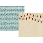 Simple Stories - Say Cheese III Collection - 12 x 12 Double Sided Paper - Hello Adventure