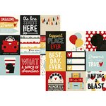 Simple Stories - Say Cheese III Collection - 12 x 12 Double Sided Paper - 4 x 4 Elements