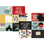 Simple Stories - Say Cheese III Collection - 12 x 12 Double Sided Paper - 4 x 6 Horizontal Elements