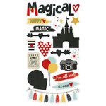Simple Stories - Say Cheese III Collection - Chipboard Stickers