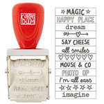 Simple Stories - Carpe Diem Collection - Say Cheese III - Roller Stamp