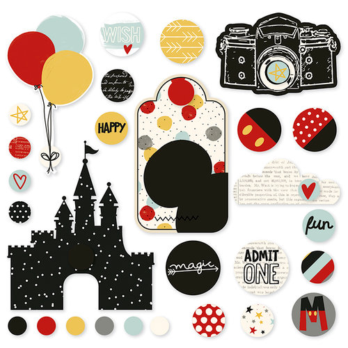Simple Stories - Say Cheese III Collection - Decorative Brads
