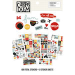 Simple Stories - Carpe Diem - Say Cheese III Collection - Sticker Tablet