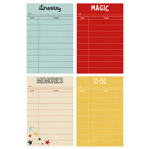 Simple Stories - Carpe Diem - Say Cheese III Collection - Sticky Notes