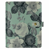 Carpe Diem - Personal Planner - Mint Vintage Floral - Binder Only