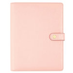 Simple Stories - Carpe Diem Collection - Personal Planner - Blush - Binder Only