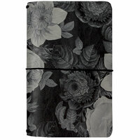 Carpe Diem - Beautiful Collection - Traveler's Notebook - Black Vintage Floral