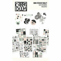 Carpe Diem - Beautiful Collection - Mini Sticker Tablet