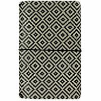 Carpe Diem - Good Vibes Collection - Traveler's Notebook - Aztec Black and White