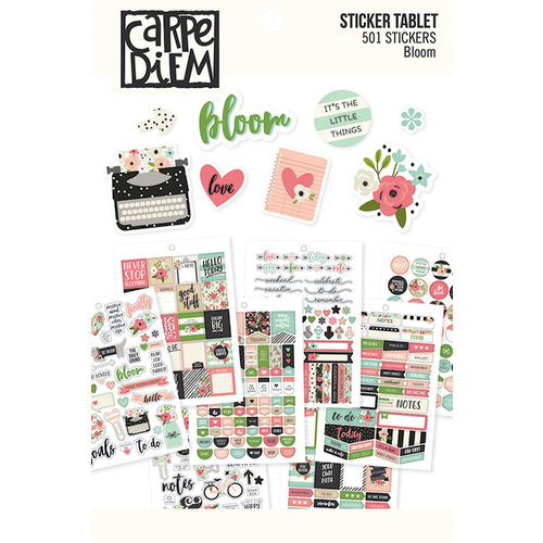 Simple Stories - Carpe Diem - Bloom Collection - Sticker Tablet