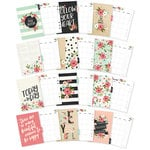 Simple Stories - Carpe Diem - Bloom Collection - A5 Planner - Inserts - Monthly