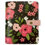 Simple Stories - Carpe Diem Collection - Personal Planner - Black Blossom - Binder Only