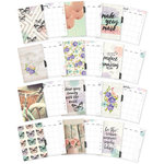 Simple Stories - Carpe Diem - Bliss Collection - A5 Planner - Inserts - Monthly - Undated