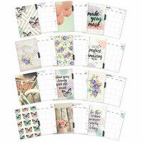Carpe Diem - Bliss Collection - A5 Planner - Inserts - Monthly - Undated