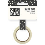 Simple Stories - Carpe Diem - Bliss Collection - Washi Tape - Black Speckle