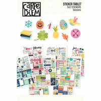 Carpe Diem - Planner Essentials - Sticker Tablet - Seasons