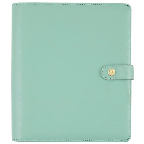 Simple Stories - Carpe Diem Collection - Personal Planner - Robin's Egg - Binder Only