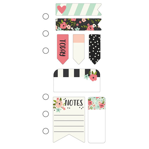 Simple Stories - Carpe Diem - Bloom Collection - Mini Sticky Notes