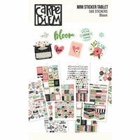 Carpe Diem - Bloom Collection - Mini Sticker Tablet