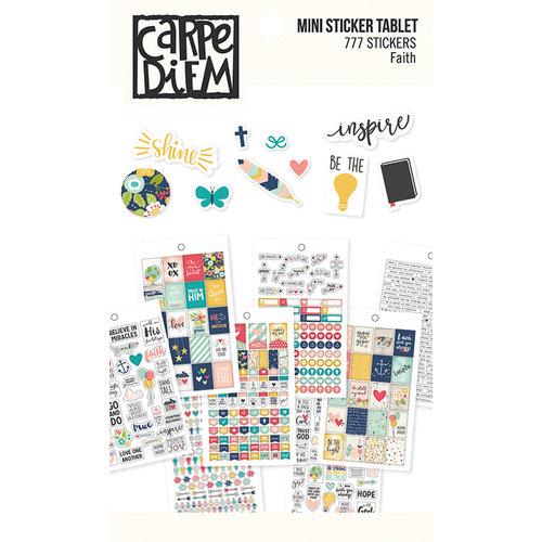 Carpe Diem - Faith Collection - Mini Sticker Tablet