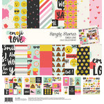 Simple Stories - Emoji Love Collection - 12 x 12 Collection Kit