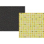 Simple Stories - Emoji Love Collection - 12 x 12 Double Sided Paper - YAY