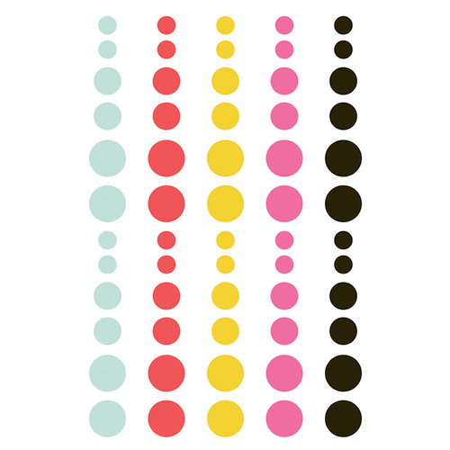 Simple Stories - Emoji Love Collection - Enamel Dots