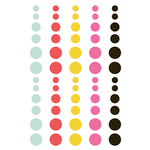 Simple Stories - Emoji Love Collection - Enamel Dots