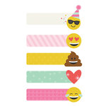 Simple Stories - Carpe Diem - Emoji Love Collection - Page Flags