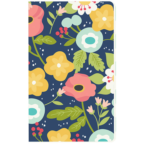 Carpe Diem - Faith Collection - Doc-It Journal - Navy Floral