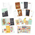 Simple Stories - Carpe Diem - Recipe Collection - A5 Planner Inserts